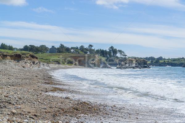 Península paisaje agua mar océano Foto stock © prill