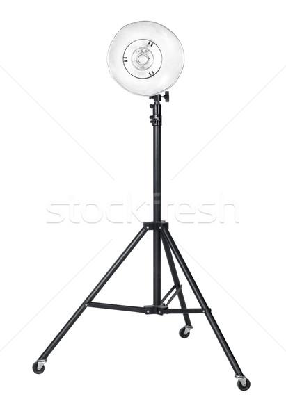профессиональных студию изолированный белый Сток-фото © prill