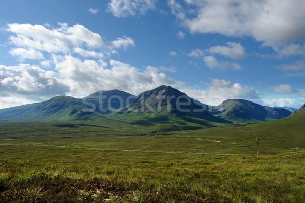Arcadian scenery around Rannoch Moor Stock photo © prill