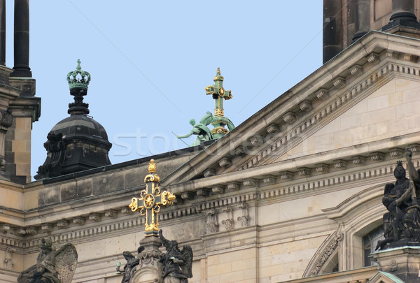 detail of the Berlin Cathedral Stock photo © prill