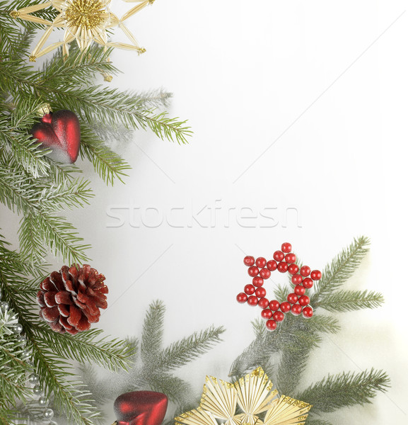 decorative christmas back Stock photo © prill