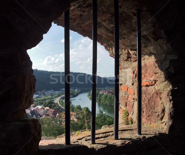 window at Wertheim Castle Stock photo © prill
