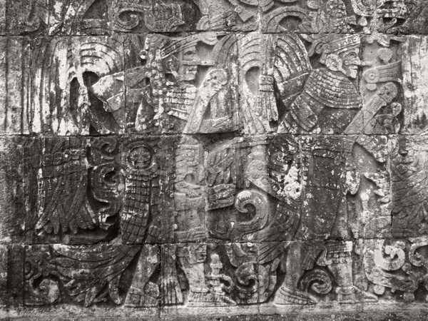 stone relief detail in Chichen Itza Stock photo © prill