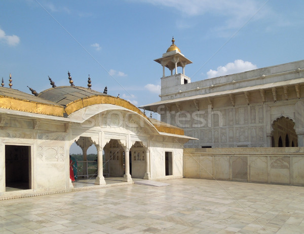 Building in Agra Stock photo © prill