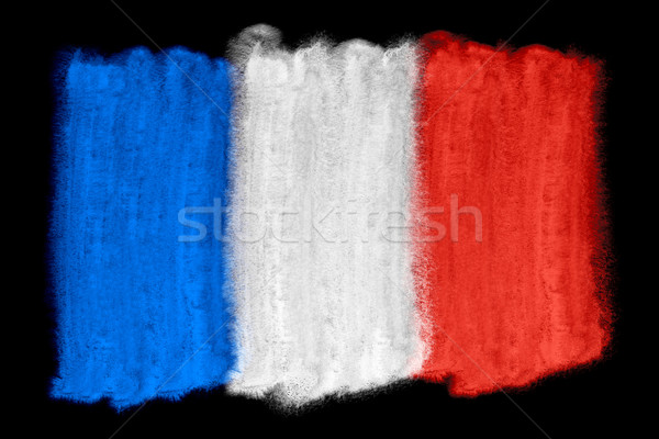 France pavillon illustration couleur pour aquarelle fond art Photo stock © prill