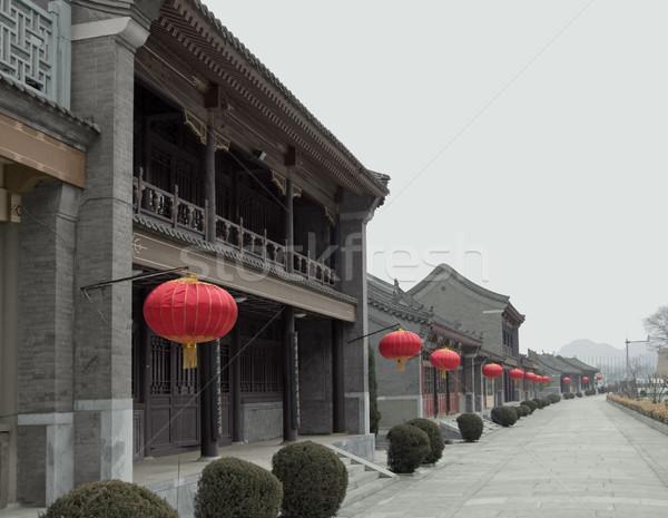 near the Great Wall of China Stock photo © prill