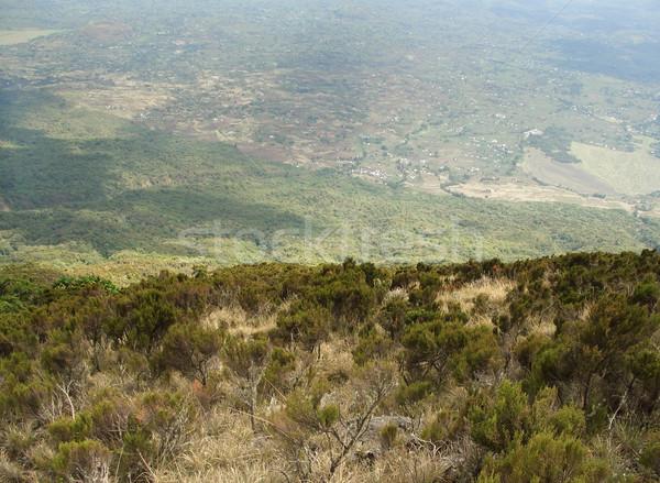 Virunga Mountains Stock photo © prill