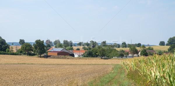 small village Stock photo © prill