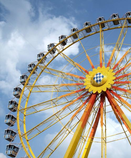 big wheel and blue sky Stock photo © prill