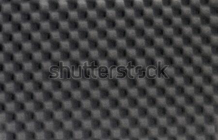 black foam material Stock photo © prill