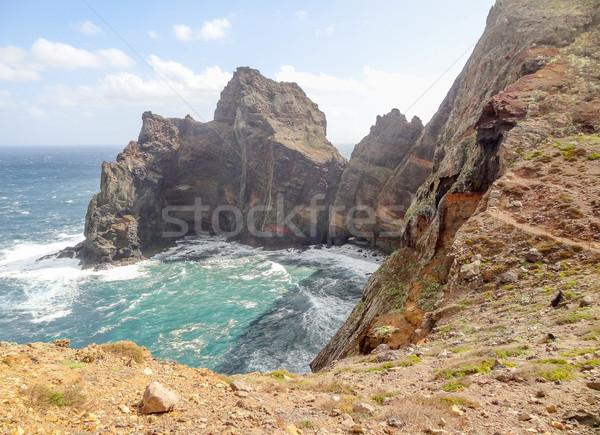 île madère paysages plage eau Photo stock © prill