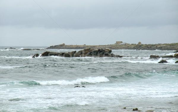 coastal scenery in Brittany Stock photo © prill