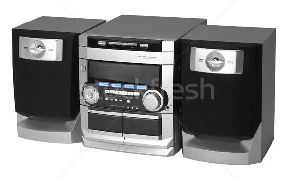 Moderna metálico radio estudio fotografía Foto stock © prill