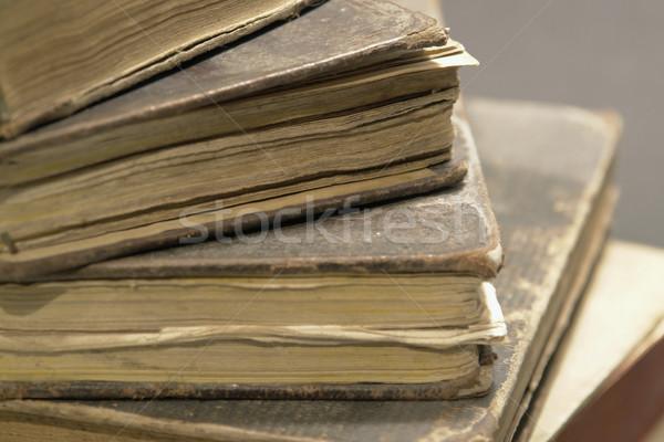 stack of historic books Stock photo © prill