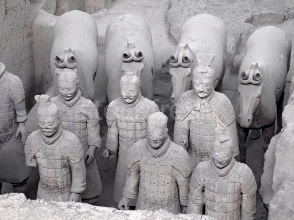 Terracotta Soldiers Stock photo © prill