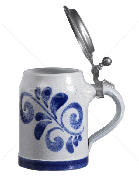 stein with lid Stock photo © prill
