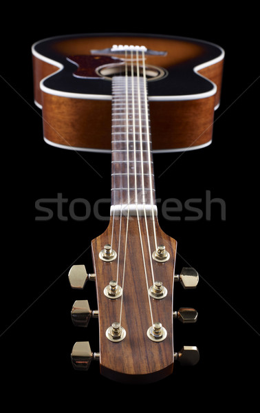Acoustic Guitar Stock photo © prill