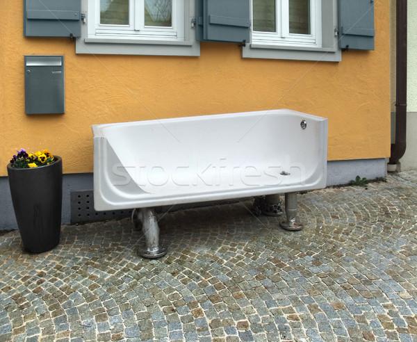 bench in Schwaebisch Hall Stock photo © prill