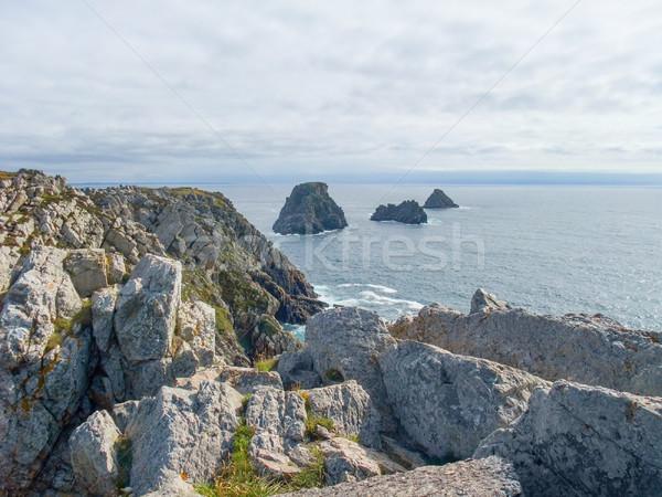 ストックフォト: 風景 · 周りに · 半島 · 風景 · 海