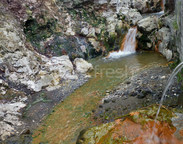 colorful hot spring Stock photo © prill
