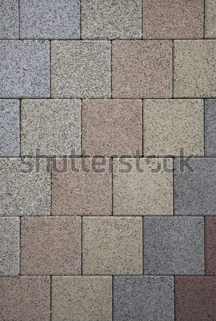 abstract stone pattern in grey and blue Stock photo © prill