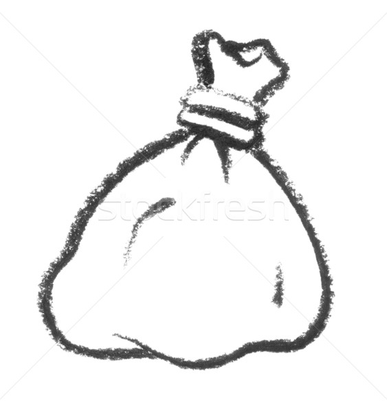sketched bag Stock photo © prill