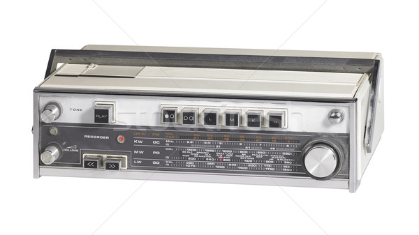 nostalgic radio Stock photo © prill