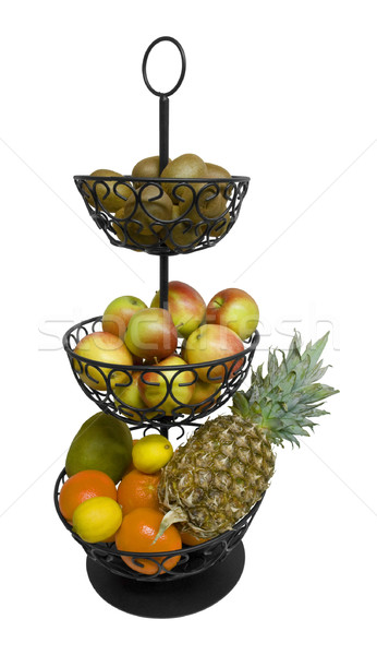 etagere with fruits Stock photo © prill