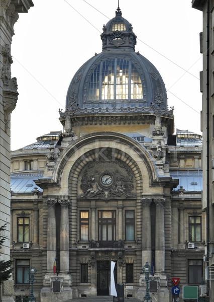 Бухарест дворец город дороги здании строительство Сток-фото © prill