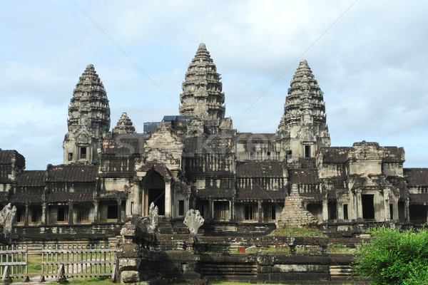 Angkor Wat tapınak karmaşık Kamboçya Bina seyahat Stok fotoğraf © prill
