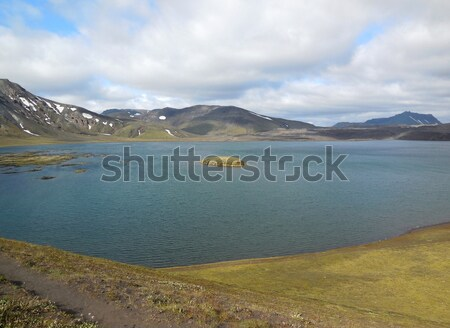 natural scenery in Iceland Stock photo © prill