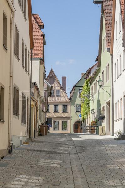 города средний дома архитектура аллеи Сток-фото © prill