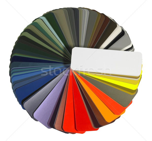full spread color chart Stock photo © prill