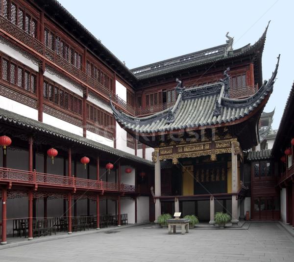 саду Шанхай исторический год Сток-фото © prill