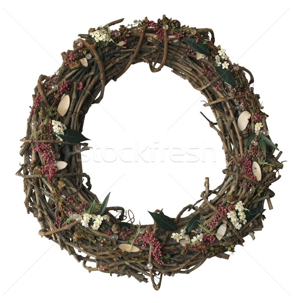 autumn wreath Stock photo © prill