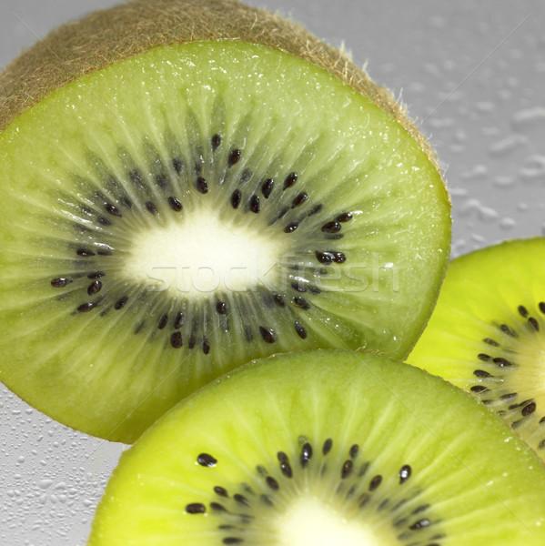 fresh sliced kiwi fruits Stock photo © prill