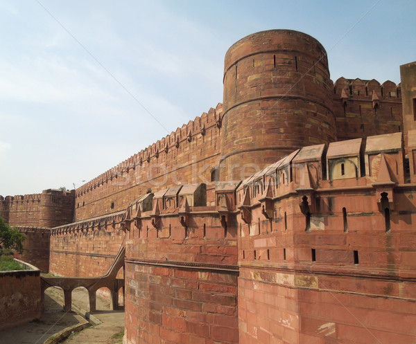 Agra Fort Stock photo © prill