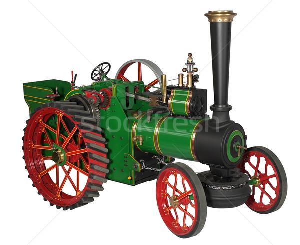automotive steam engine model Stock photo © prill