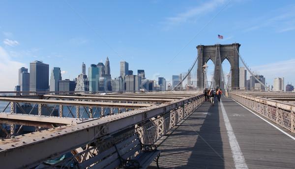 at Brooklyn Bridge Stock photo © prill