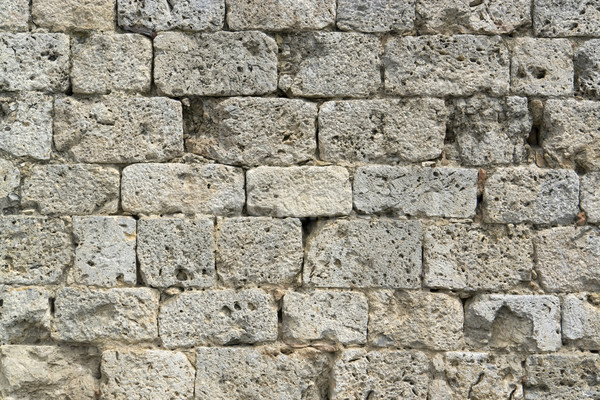 old stone wall detail Stock photo © prill
