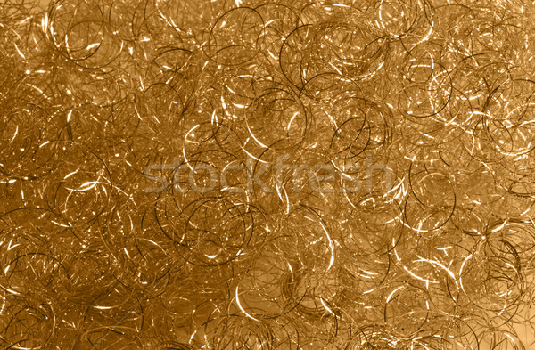 golden loops detail Stock photo © prill