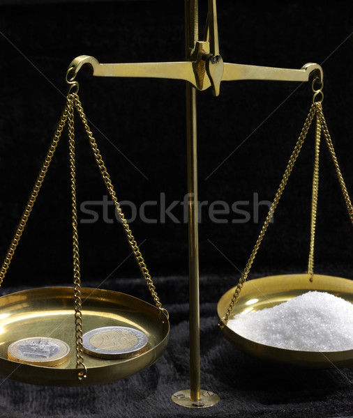 Stock photo: historic scales