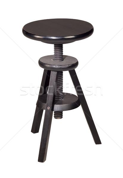 wooden stool Stock photo © prill