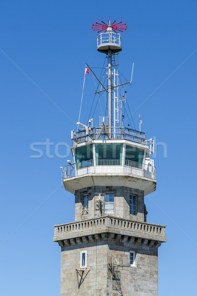 observation tower in Brittany Stock photo © prill