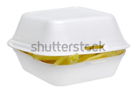 white junk food box Stock photo © prill