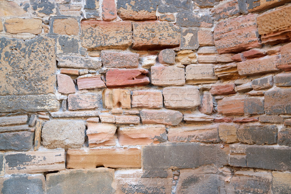 historic stone wall detail Stock photo © prill