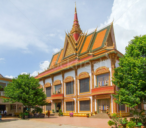 building at Siem Reap Stock photo © prill