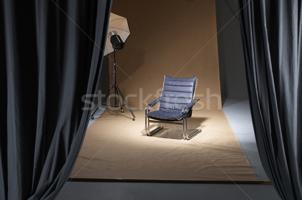 chair in a photostudio Stock photo © prill