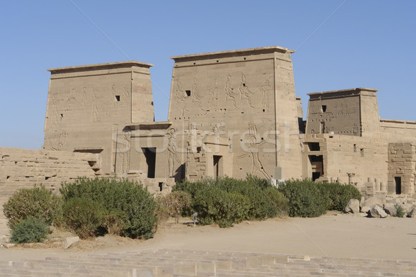 Temple of Philae in Egypt Stock photo © prill