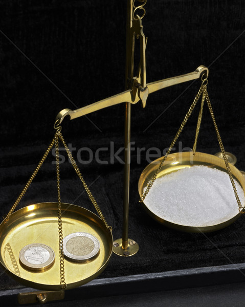 Stock photo: historic scales